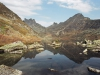 Ергаки,Западный Саян, озеро Золотарное, перевал Пикантный