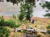 Ергаки, Западный Саян, озеро Золотарное (Малохитовое)