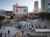 Япония, Токио, перекресток Shibuya Crossing
