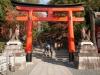 Япония, Киото, вход в Fushimi Inari