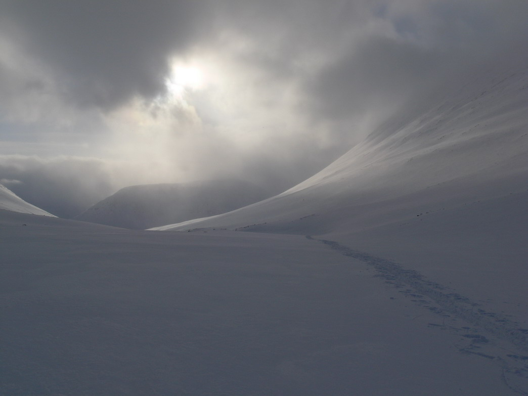 Швеция, верховья долины Kaskasavagge