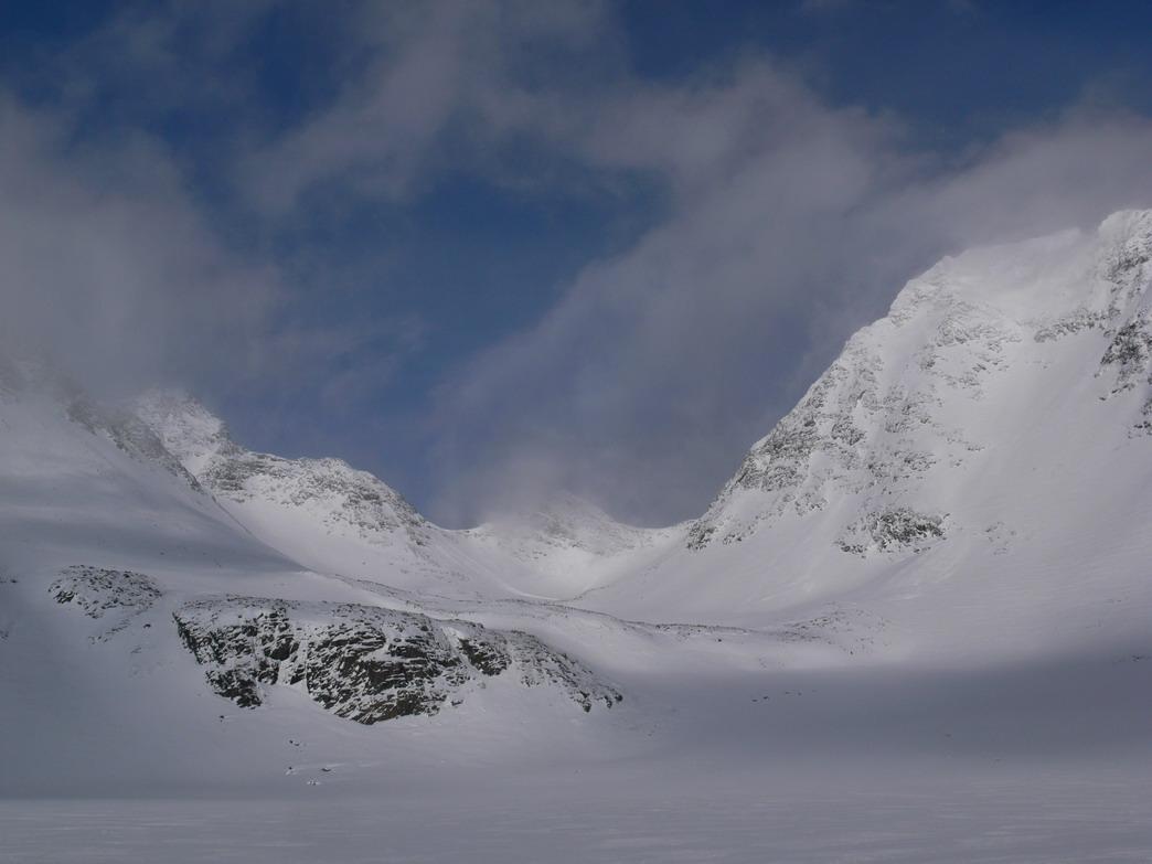 Швеция, верховья долины Guodirvaggi