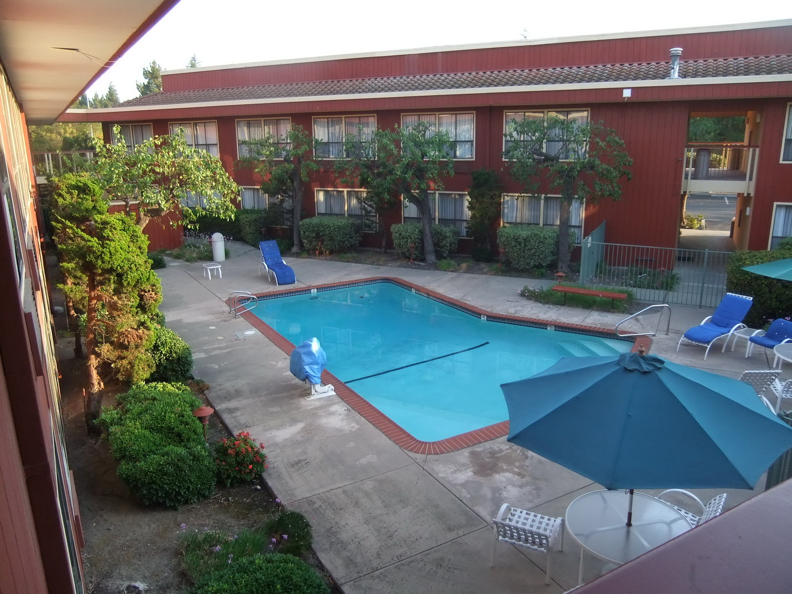 США, Mountain View, гостиница County Inn
