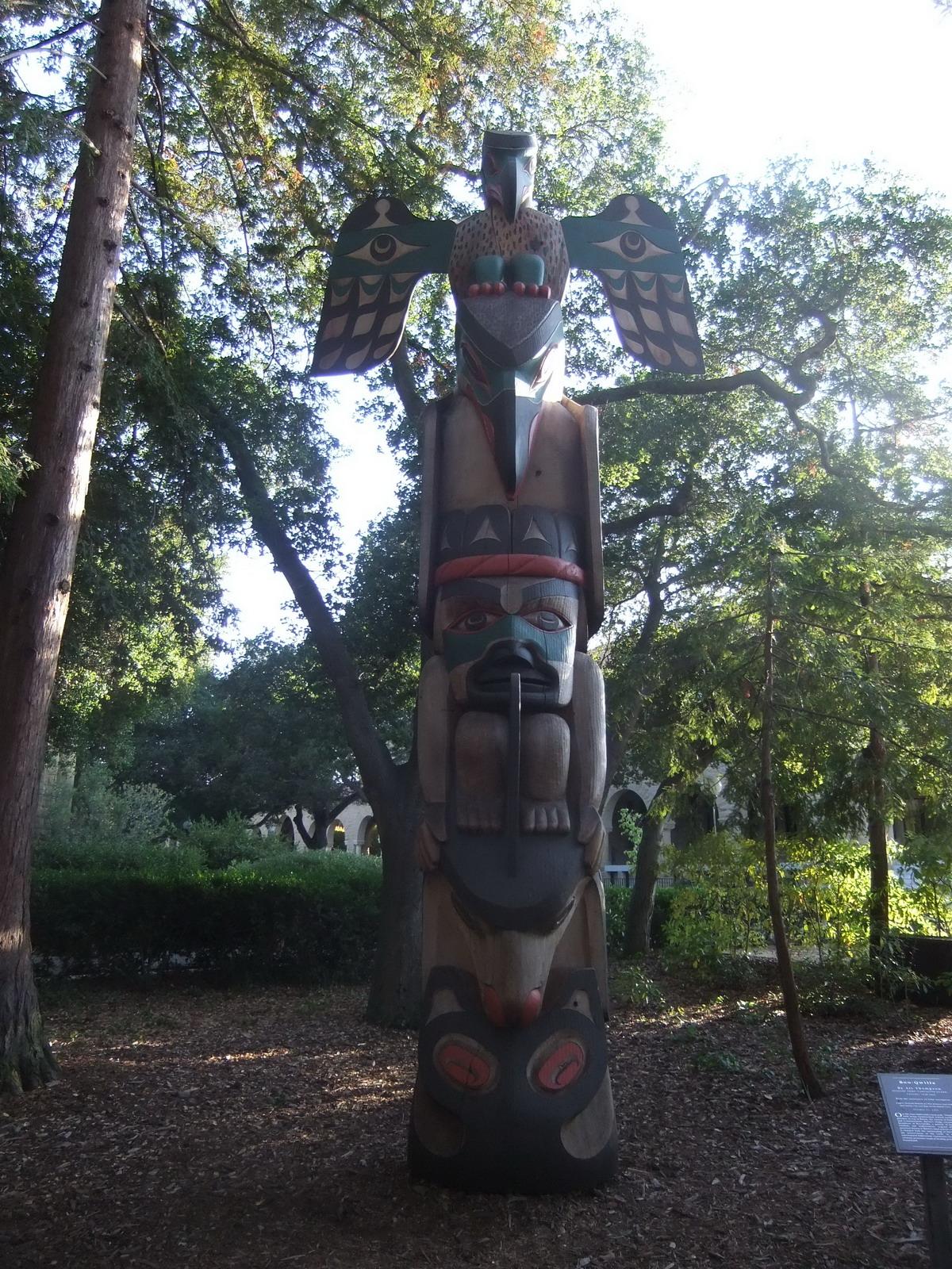 США, Стенфордский университет, индейский идол