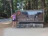 США, Калифорния, въезд в парк Yosemite