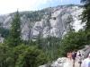 США, Калифорния, Yosemite, подъем по тропе