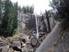США, Калифорния, Yosemite, водопад Vernala