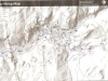 США, Калифорния, схема маршрута в Yosemite