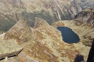 Ергаки Западный Саян озеро Горных Духов перевал Парабола
