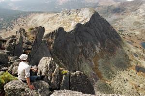 Ергаки Западный Саян перевал Птица