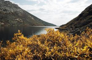 Ергаки Западный Саян озеро Золотарное Малохитовое