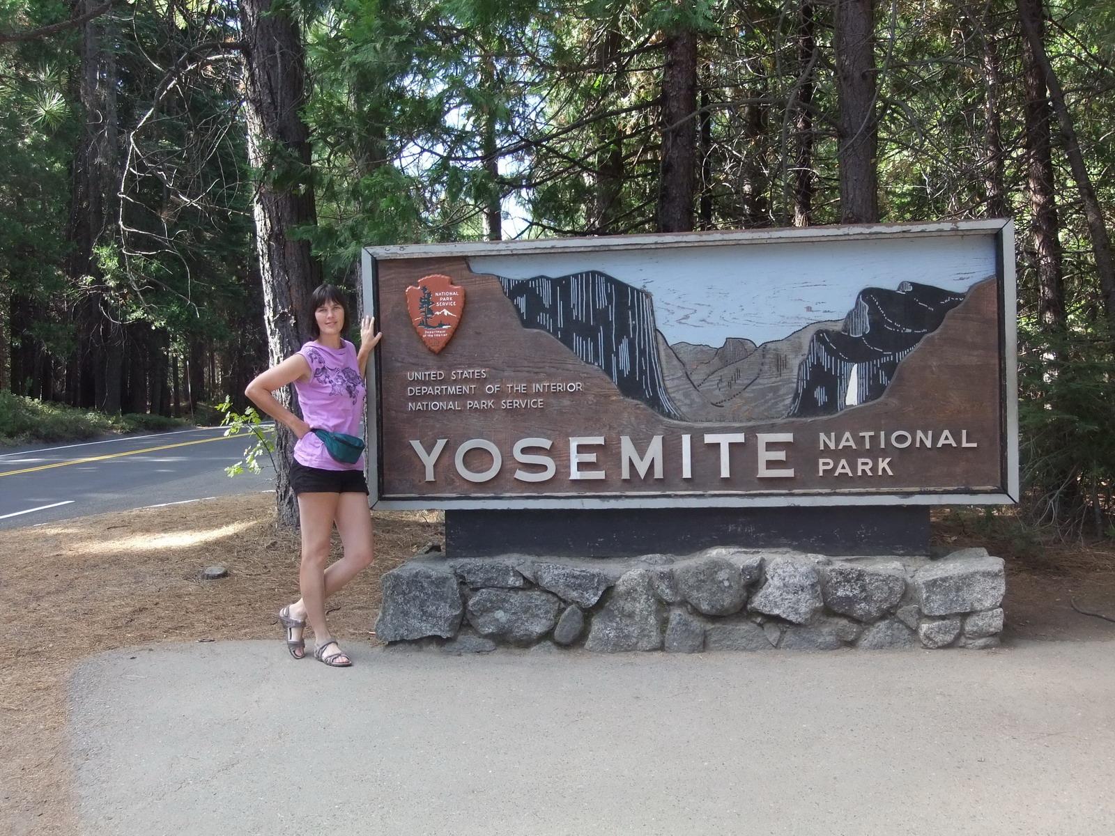 США, въезв в Yosemite