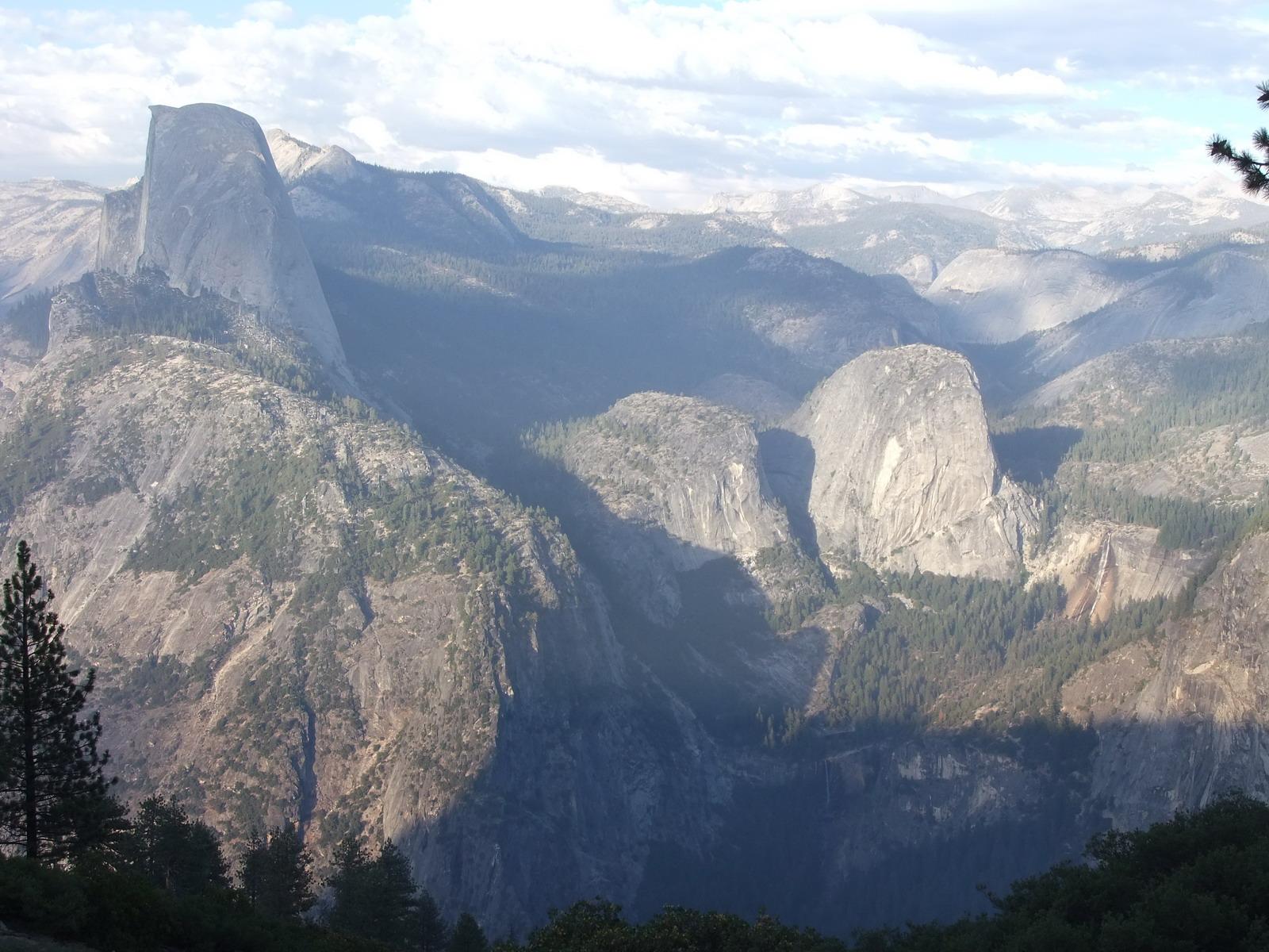 США, Виды Yosemite, Glacer Point