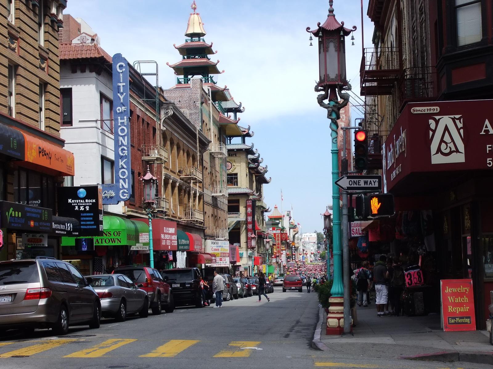 США, Сан-Франциско, China town