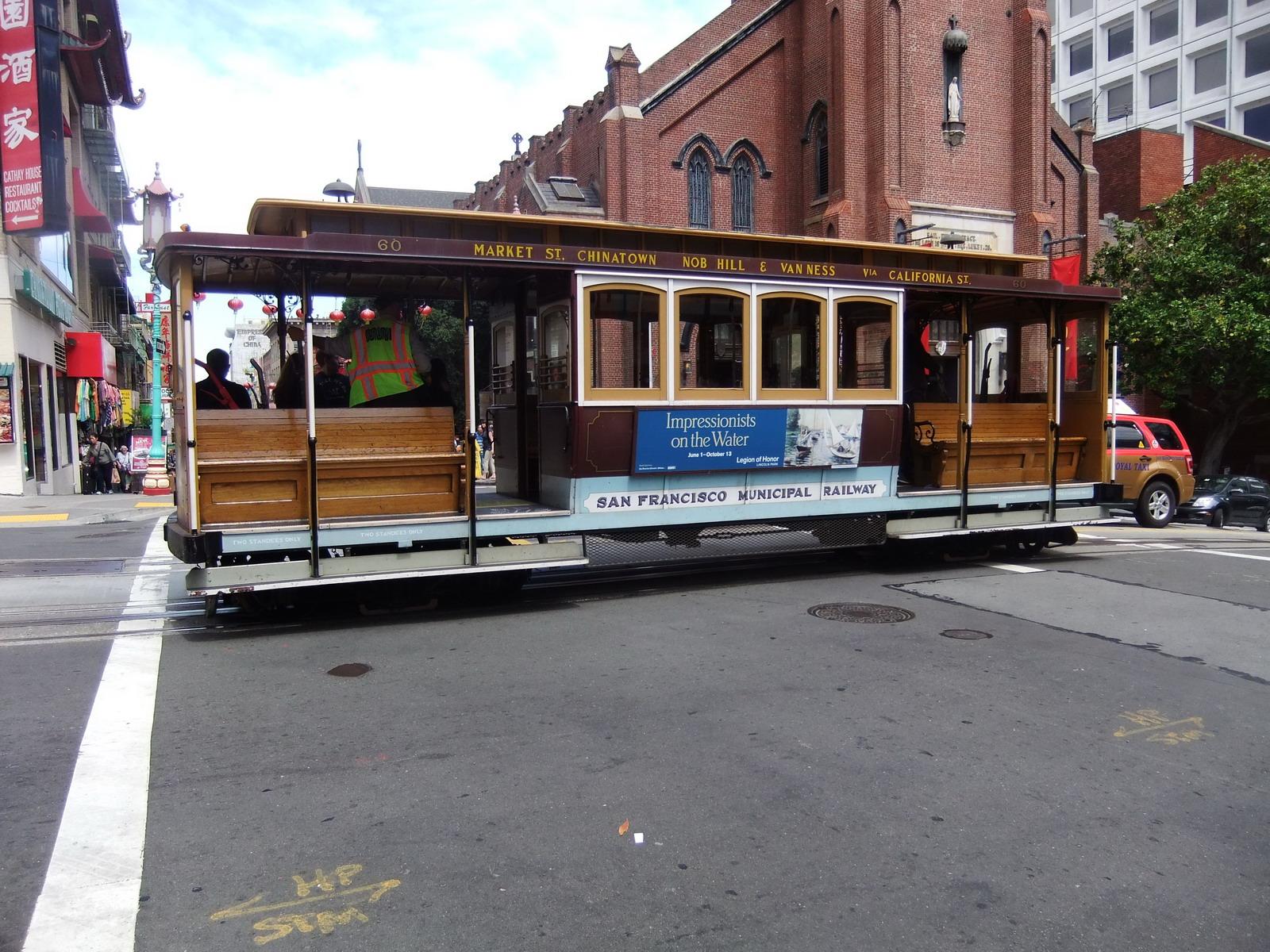 США, Сан-Франциско, гусеничный трамвай