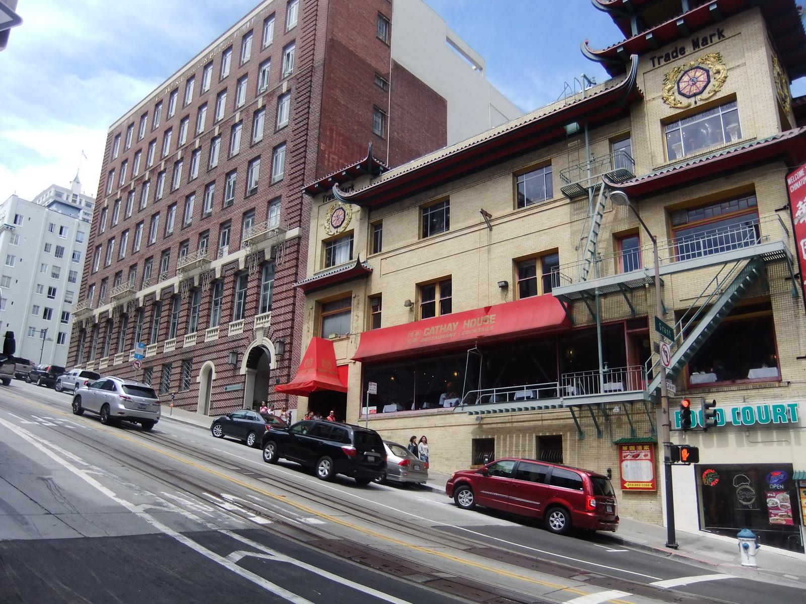 США, Сан-Франциско, крутая улица