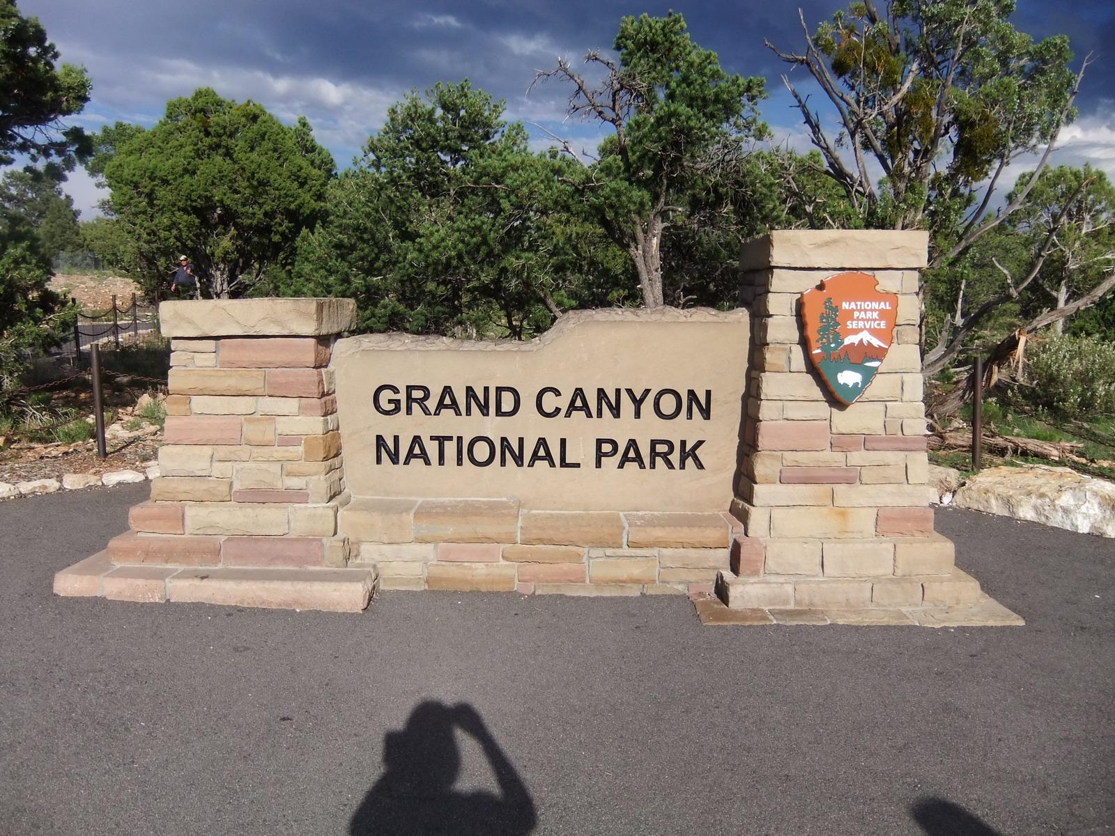 Grand Canyon (Гранд Каньон), Вход в национальный парк