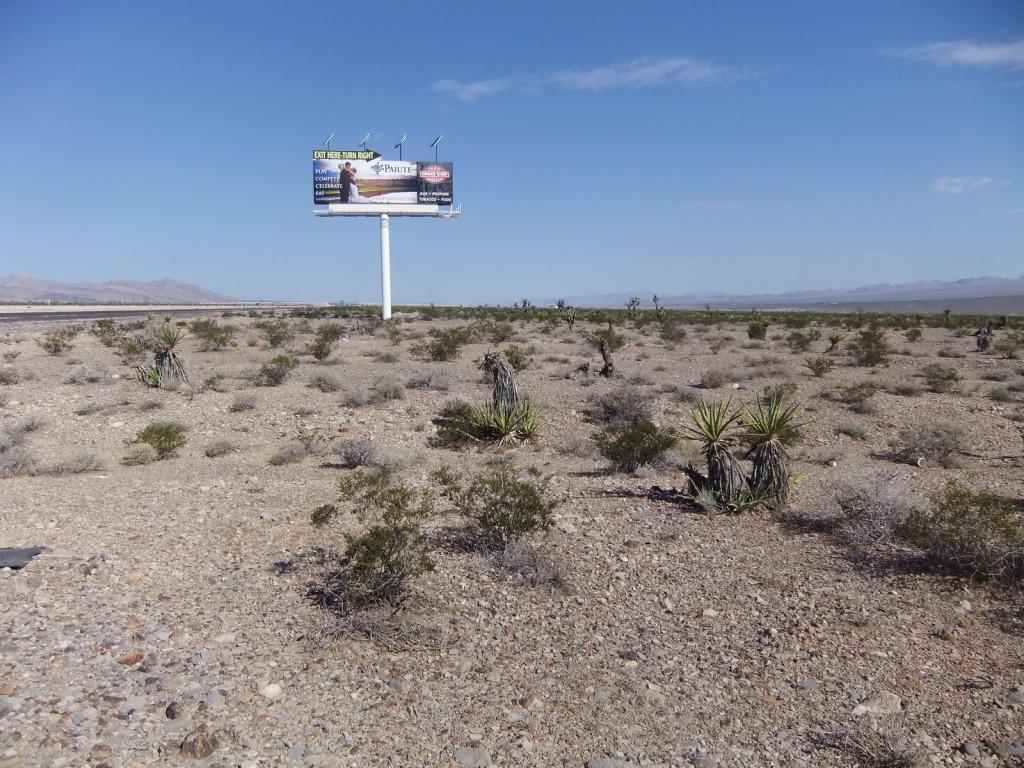 США, пустыня штата Nevada