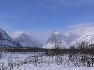 Швеция, река Laddjujohka, маршруты Кебнекайсе