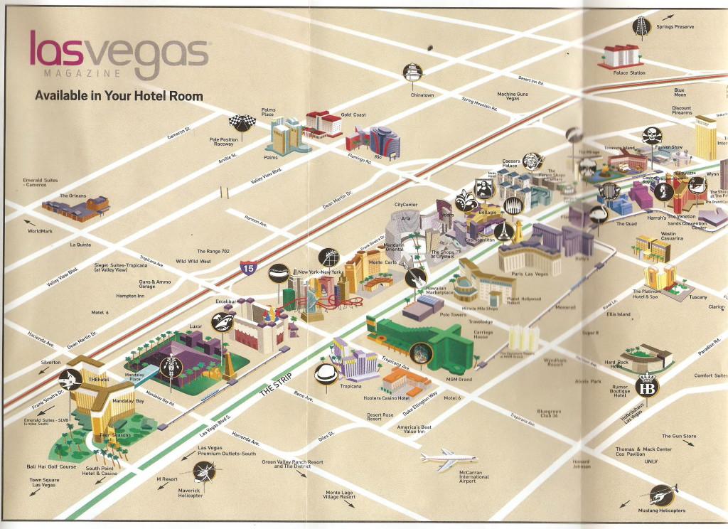 США, Las Vegas, карта