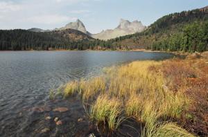 Ергаки Западный Саян озеро Светлое пик Птица пик Звездный