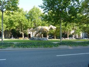 Франкфурт, динозавр