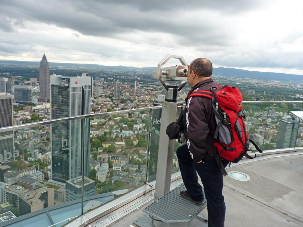 Франкфурт, смотровая площадка