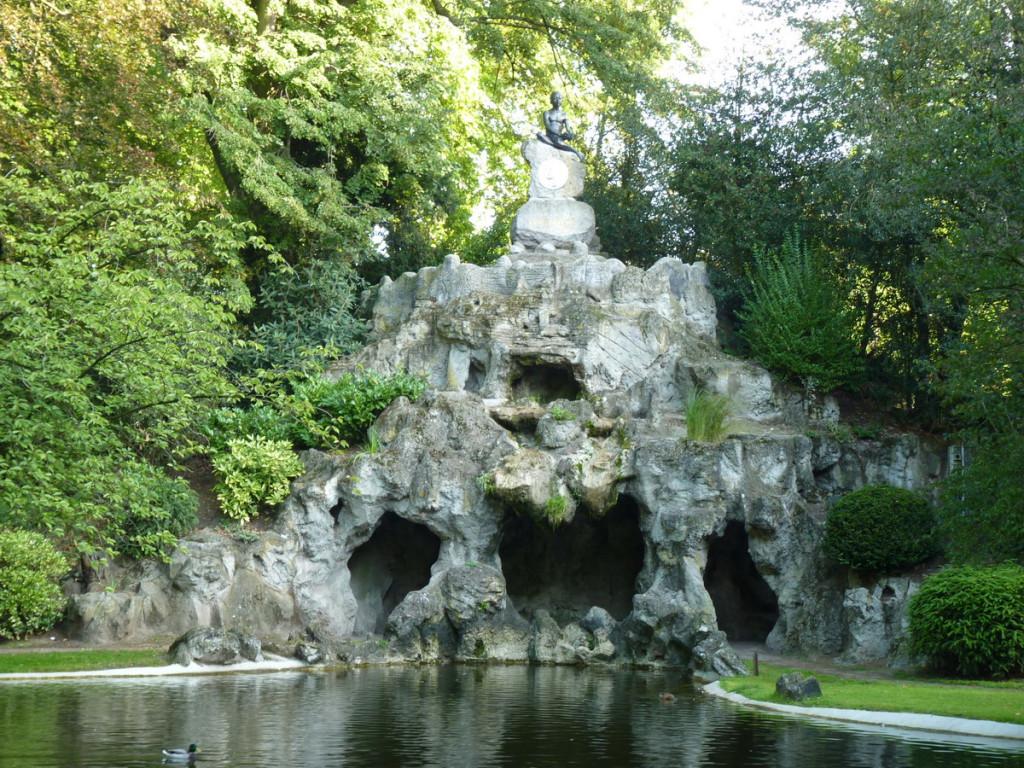 Бельгия, Гент, парк музея изящных искусств