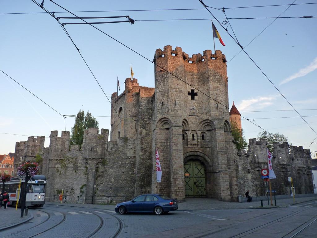 Бельгия, Гент, замок графов Фландрии