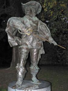 Маастрихт, памятник д`Артаньяну