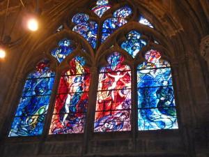Мец, кафедральный собор Сен Этьен, Шагал