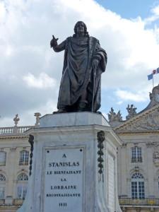 Франция, Нанси, памятник Станиславу Лещинскому