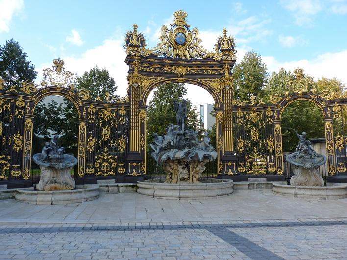 Франция, Нанси, площадь Станислас