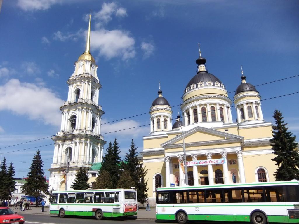 Рыбинск, Спасо-Преображенский собор