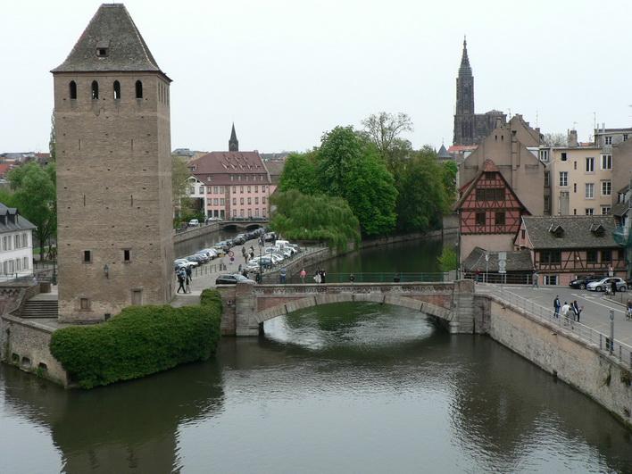 Страсбург, плотина Вобана