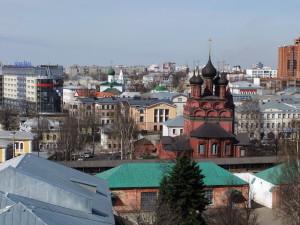 Ярославль, вид с колокольни Спасо-Преображенского собора